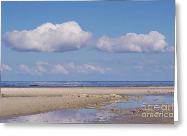 North Sea Greeting Cards - Feelings  Greeting Card by Angela Doelling AD DESIGN Photo and PhotoArt