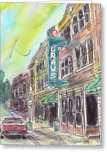 Franklin Tennessee Greeting Cards - Feels Like Franklin Greeting Card by Tim Ross