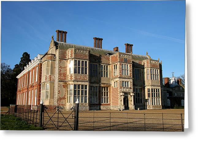 Paul Lilley Greeting Cards - Felbrigg Hall Greeting Card by Paul Lilley