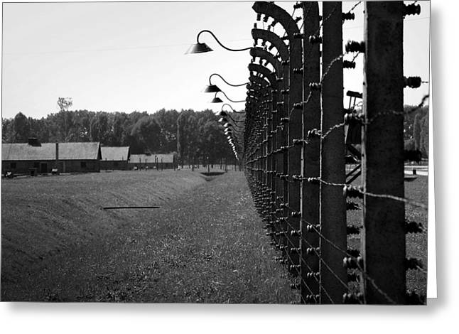 Slaves Greeting Cards - Fence of Death Greeting Card by Mountain Dreams