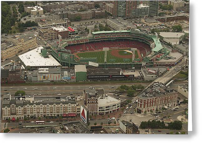 Boys Of Summer Greeting Cards - Fenway  Greeting Card by Joshua House