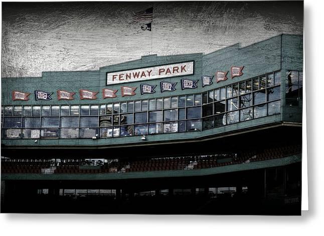 Fenway Memories - 1 Greeting Card by Stephen Stookey