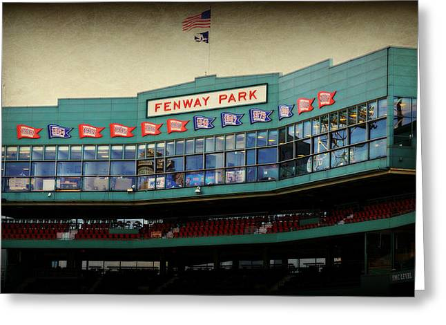 Baseball Game Greeting Cards - Fenway Memories - 2 Greeting Card by Stephen Stookey