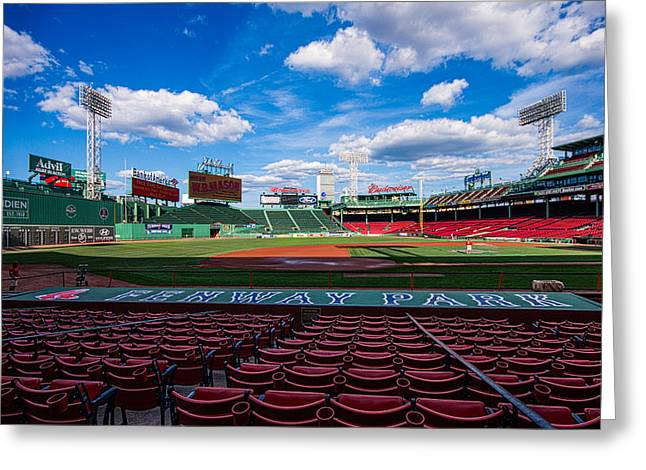 Best Sellers -  - Fenway Park Greeting Cards - Fenway Park Greeting Card by Tom Gort