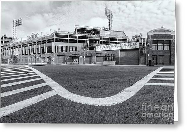 Crosswalk Greeting Cards - Fenway Park VI Greeting Card by Clarence Holmes
