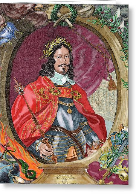 Ferdinand IIi (1608-1657 Greeting Card by Prisma Archivo