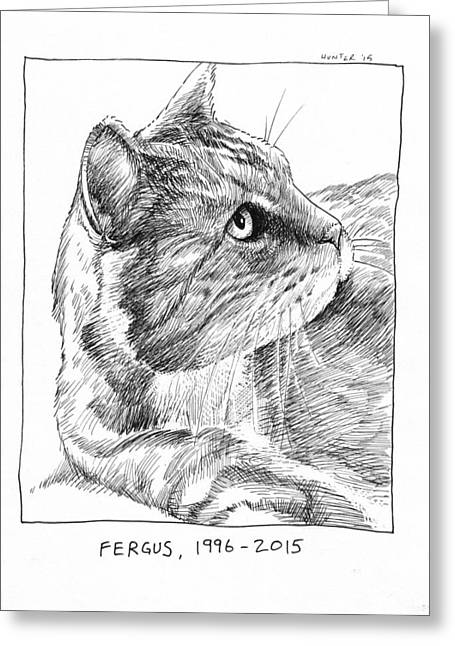 Creating Greeting Cards - Fergus Greeting Card by Steve Hunter