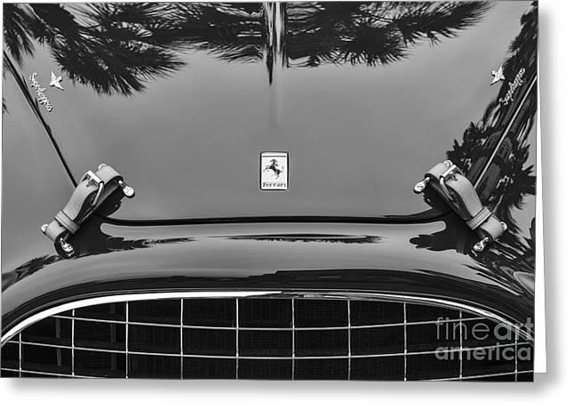 1951 Greeting Cards - Ferrari 212 Greeting Card by Dennis Hedberg