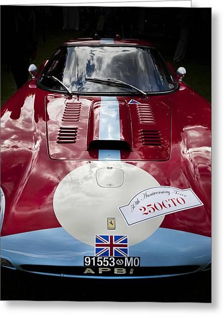 Ferrari 250 Gto Greeting Cards - Ferrari 250 GTO Scaglietti 64 C Greeting Card by Maj Seda