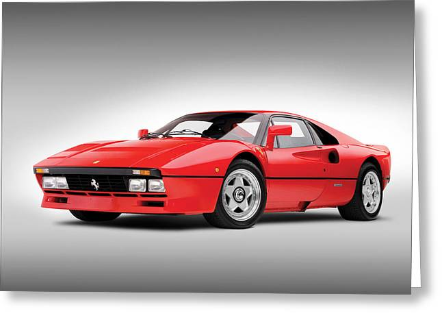 Ferrari Gto Classic Car Greeting Cards - Ferrari 288 GTO Greeting Card by Gianfranco Weiss
