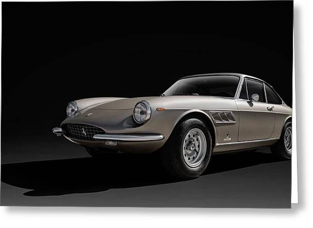 Garage Greeting Cards - Ferrari 365 Greeting Card by Douglas Pittman