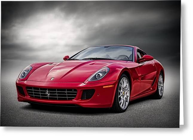 Extreme Greeting Cards - Ferrari 599 GTB Greeting Card by Douglas Pittman