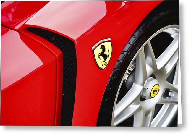 Ferrari Enzo Greeting Card by Phil 'motography' Clark