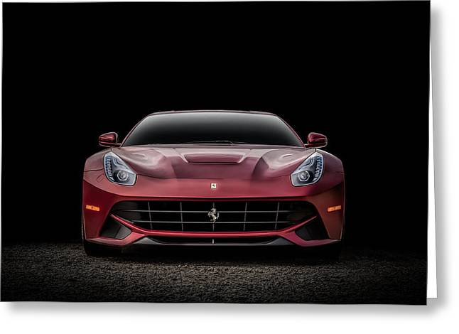 Cave Greeting Cards - Ferrari F12 Greeting Card by Douglas Pittman