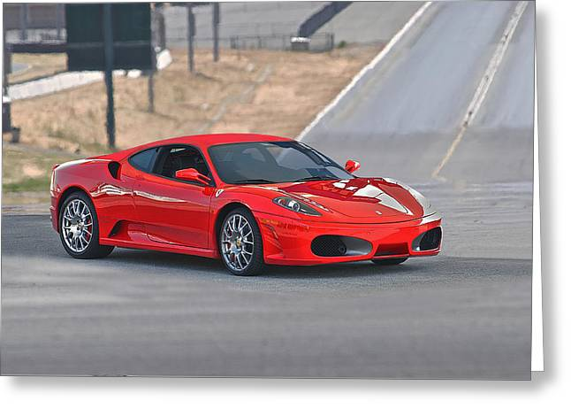 High-performance Luxury Car Greeting Cards - Ferrari F430  Greeting Card by Dave Koontz