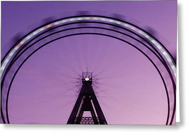 Festivities Greeting Cards - Ferris Wheel, Prater, Vienna, Austria Greeting Card by Panoramic Images