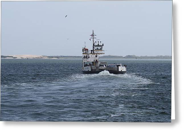 Photographers Conyers Greeting Cards - Ferry to Ocracoke 5 Greeting Card by Cathy Lindsey