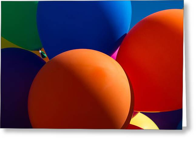 Inflatable Photographs Greeting Cards - Festive Mood - Featured 2 Greeting Card by Alexander Senin