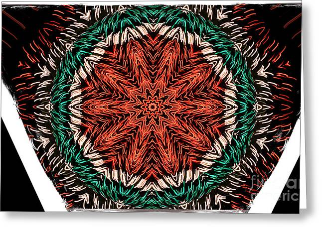 Festivities Greeting Cards - Festivity Greeting Card by Luther   Fine Art