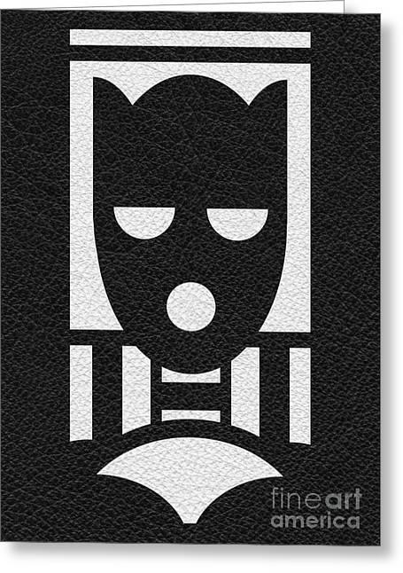 Bdsm Greeting Cards - Fetish Play Mask Greeting Card by Roseanne Jones