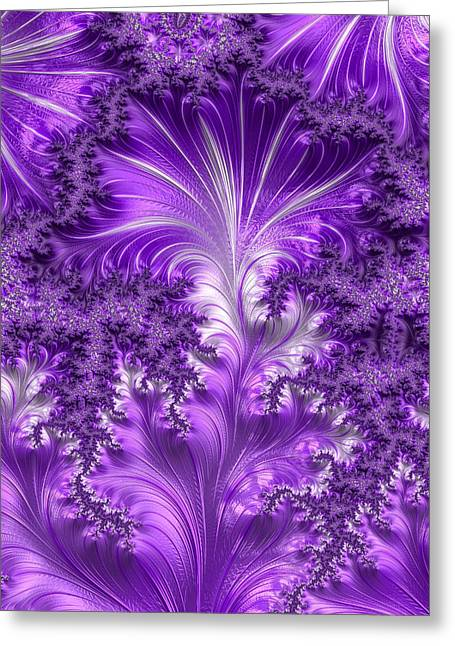 Fascinated Digital Art Greeting Cards - Fictions of Privacy Greeting Card by Jeff Iverson