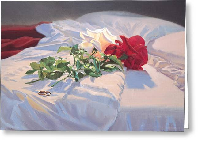 Religious Still Life Greeting Cards - Fidelity Greeting Card by Graham Braddock