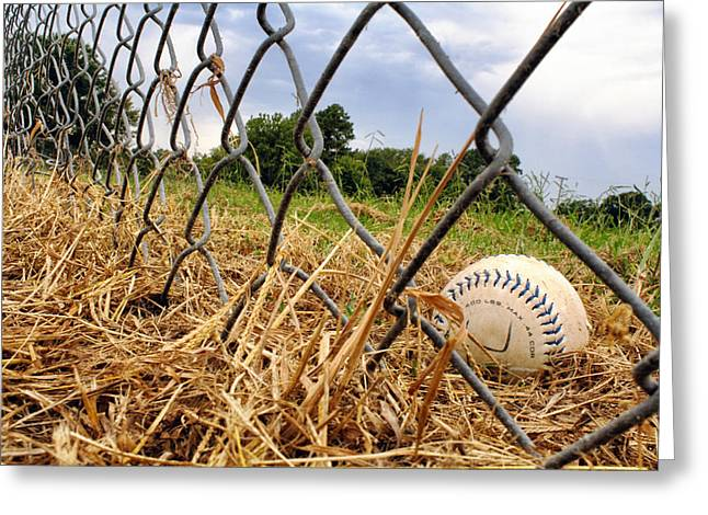 Field of Dreams Greeting Card by Jason Politte