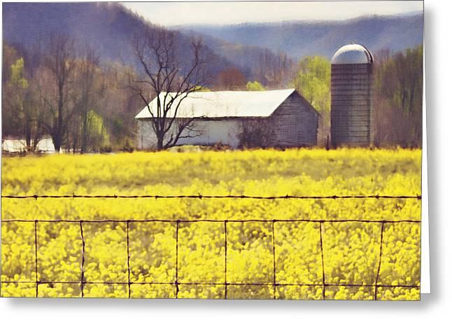 Kathy Jennings Photography Greeting Cards - Field Of Dreams Greeting Card by Kathy Jennings