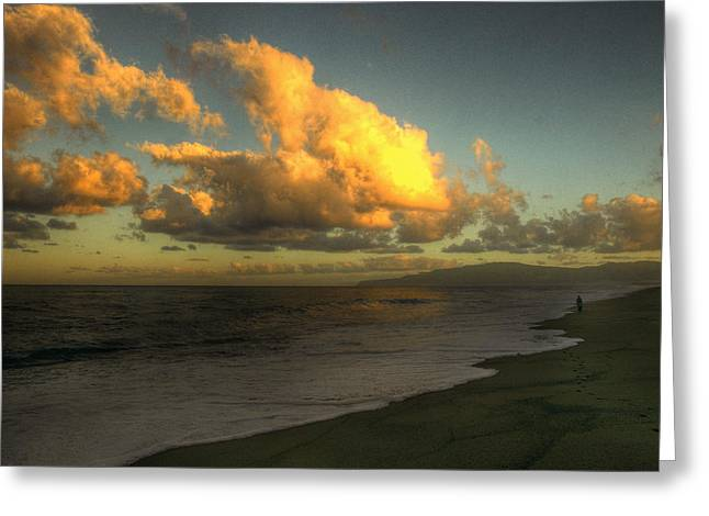 Tidal Photographs Digital Art Greeting Cards - Fiera Sicilia All orizzonte Greeting Card by William Fields
