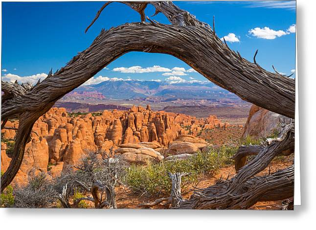 Furnace Greeting Cards - Fiery Furnace Greeting Card by Inge Johnsson