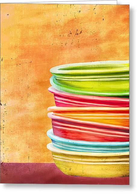 Fiesta 2 Greeting Card by Brenda Bryant