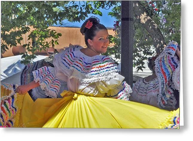 Fiesta Greeting Card by Cheri Randolph