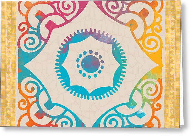 Mexican Fiesta Greeting Cards - Fiesta Fun-A Greeting Card by Jean Plout