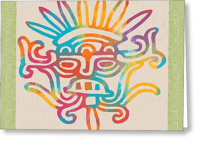 Mexican Fiesta Greeting Cards - Fiesta Fun-C Greeting Card by Jean Plout