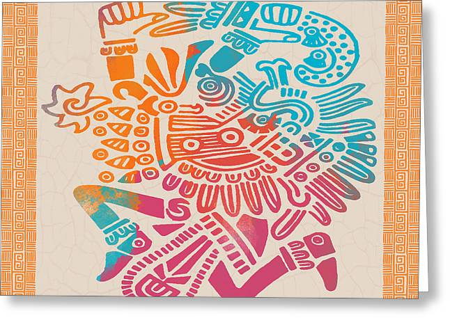 Mexican Fiesta Greeting Cards - Fiesta Fun-E Greeting Card by Jean Plout