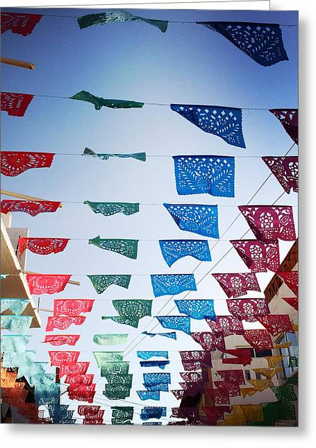 Mexican Fiesta Greeting Cards - Fiesta Greeting Card by Natasha Marco