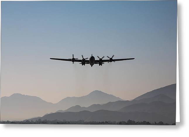 Palm Springs Airport Greeting Cards - Fifi Rising Greeting Card by John Daly