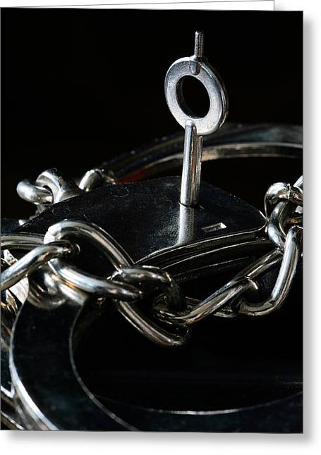 Divorce Greeting Cards - Fifty Shades of Steel  Greeting Card by JC Findley