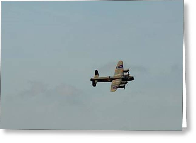 Olive Green Greeting Cards - Fighter Escort Greeting Card by Robert Phelan