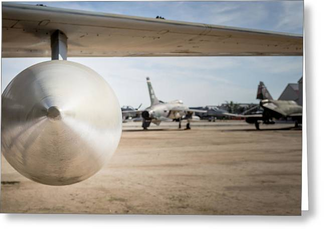 Fb Greeting Cards - Fighter Jets - FB 111A F 105 and F 4 Greeting Card by Brian Yasumura Jr