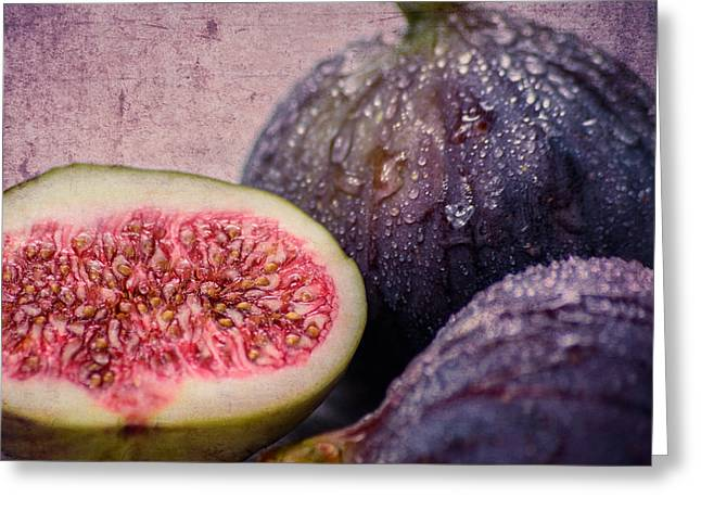 Hannes Cmarits Greeting Cards - Figs 1x1 Greeting Card by Hannes Cmarits