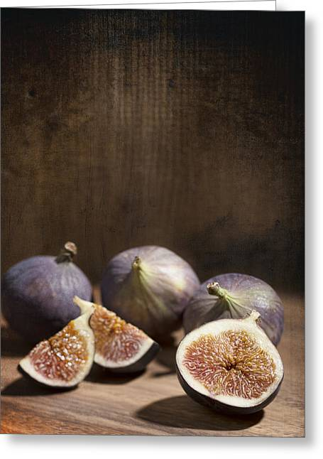 Fig Greeting Cards - Figs Greeting Card by Amanda And Christopher Elwell