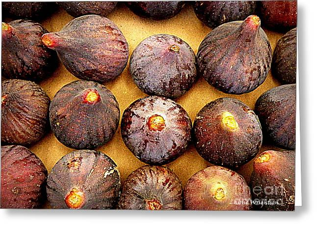 Lainie Wrightson Greeting Cards - Figs Greeting Card by Lainie Wrightson