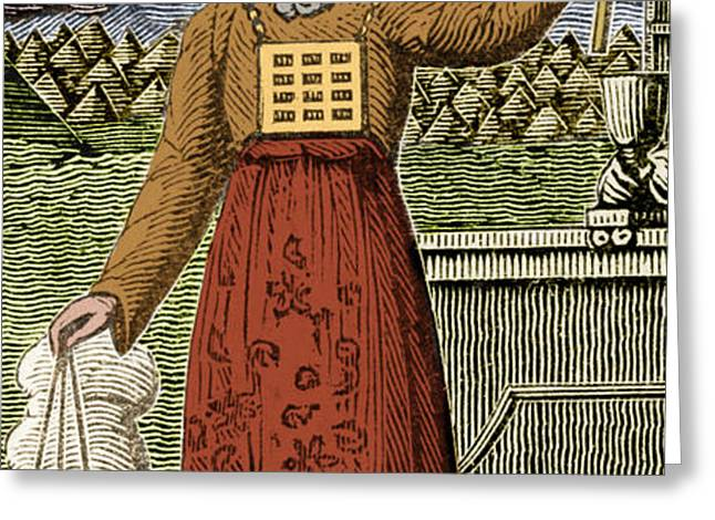 Figure Symbolizing Judaism Greeting Card by Getty Research Institute