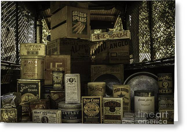 Fill The Pantry Greeting Card by Mitch Shindelbower