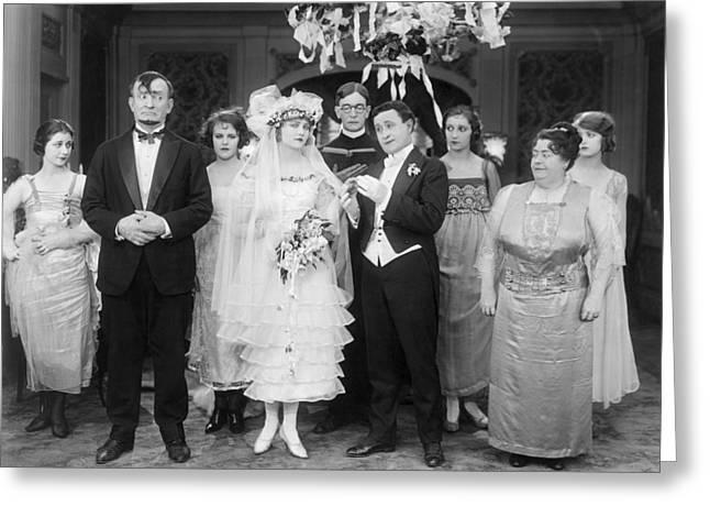 Film Still: By Golly, 1920 Greeting Card by Granger