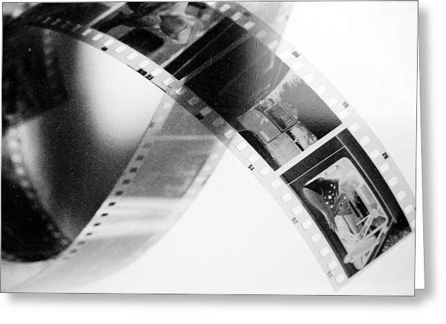Slide Photographs Greeting Cards - Film strip Greeting Card by Toppart Sweden