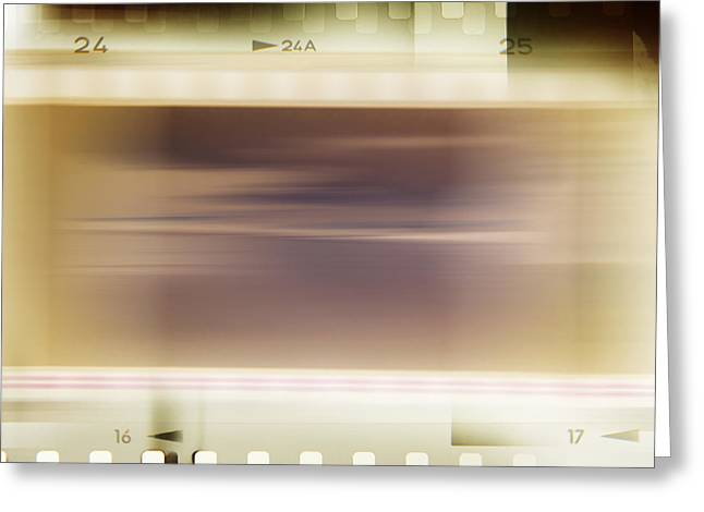 Filmstrip Greeting Cards - Film strips Greeting Card by Les Cunliffe