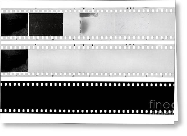 Filmstrip Greeting Cards - Film Strips Greeting Card by Michal Boubin