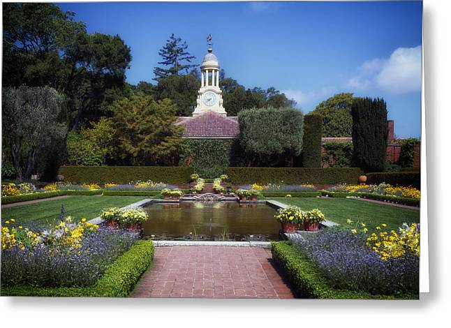 Weathervane Greeting Cards - Filoli Gardens - California Greeting Card by Mountain Dreams